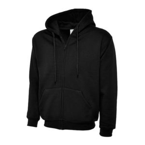 Unisex Adult Full Zip Hooded Sweatshirt